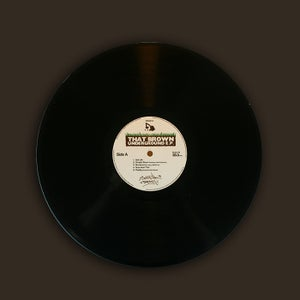 Image of DWG014 - Sputnik Brown 'That Brown Underground E.P.' (black vinyl)