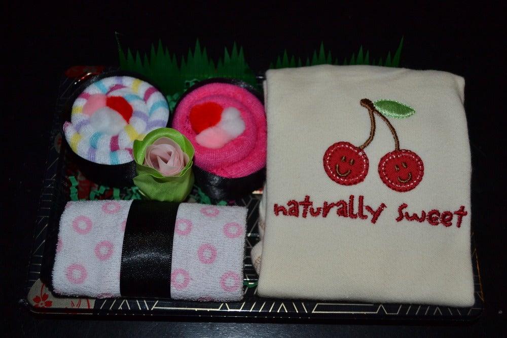 Image of Sushi, Baby! Baby Girl Onesie Gift Set