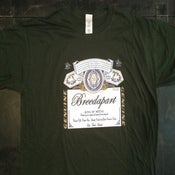 Image of Breedwieser T-Shirt Green inc our EP for FREE!