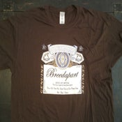 Image of Breedwieser T-Shirt Brown inc our EP for FREE!