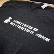 "Image of 140 Proof ""lolcat"" shirt"