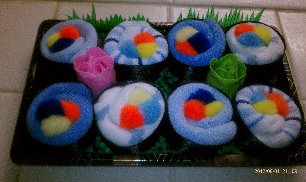 Image of Sushi, Baby! Sock Gift Set - Boy Colors