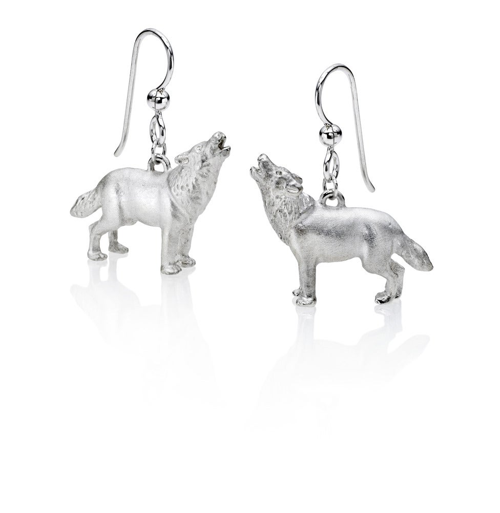 Image of Wolf Earrings