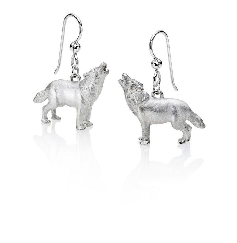 Image of Wolf Earrings