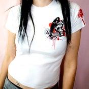 Image of FlyBy LoveStory (Girls Skinny Tee)