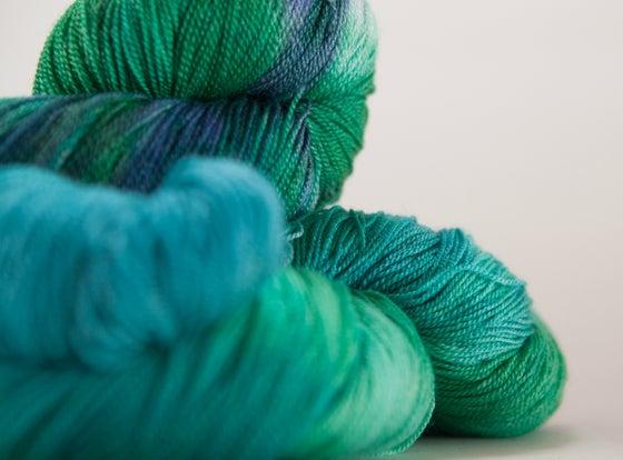 """Image of ARACHNE Lace, """"Entish"""" Merino + Silk, 1300 yards"""
