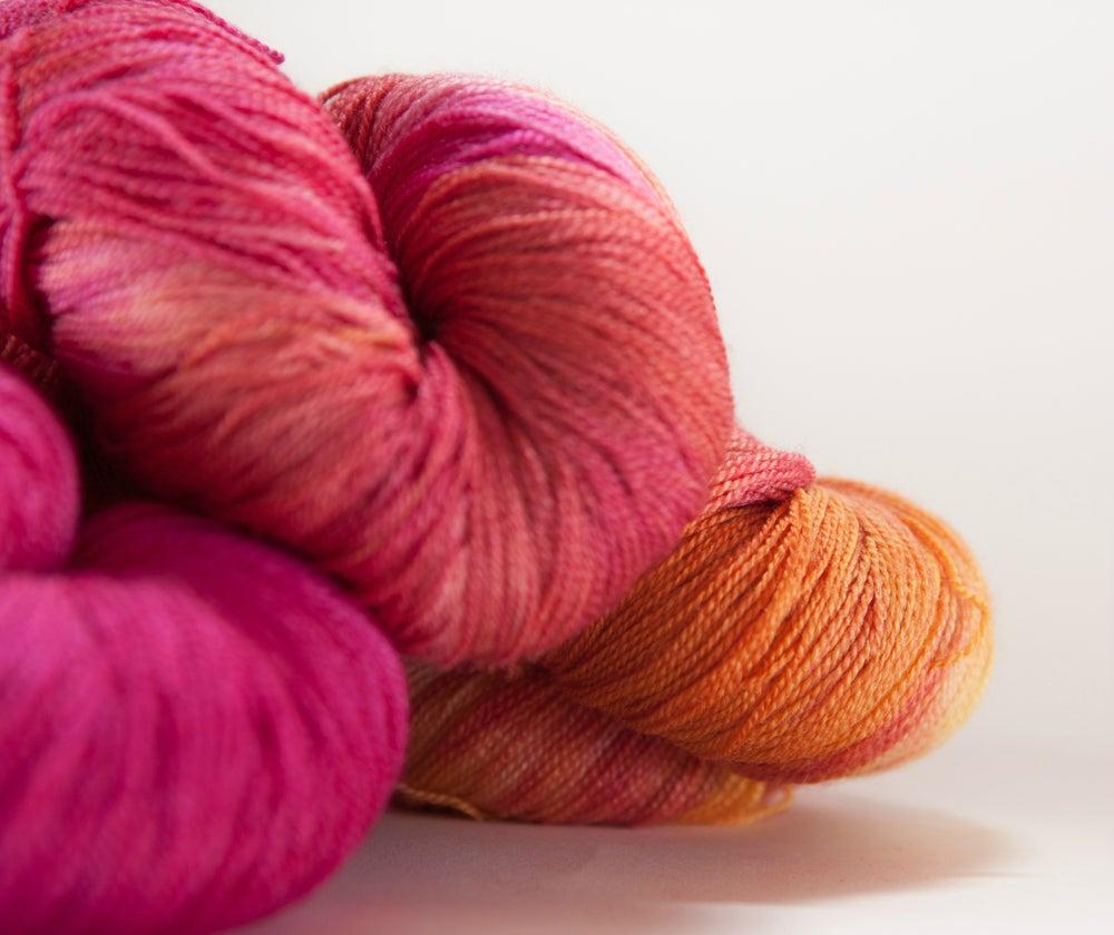 "Image of ARACHNE Lace, ""Jubilee"" Merino + Silk, 1300 yards"