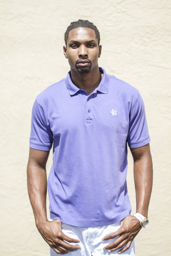 Image of Higher Purple Polo