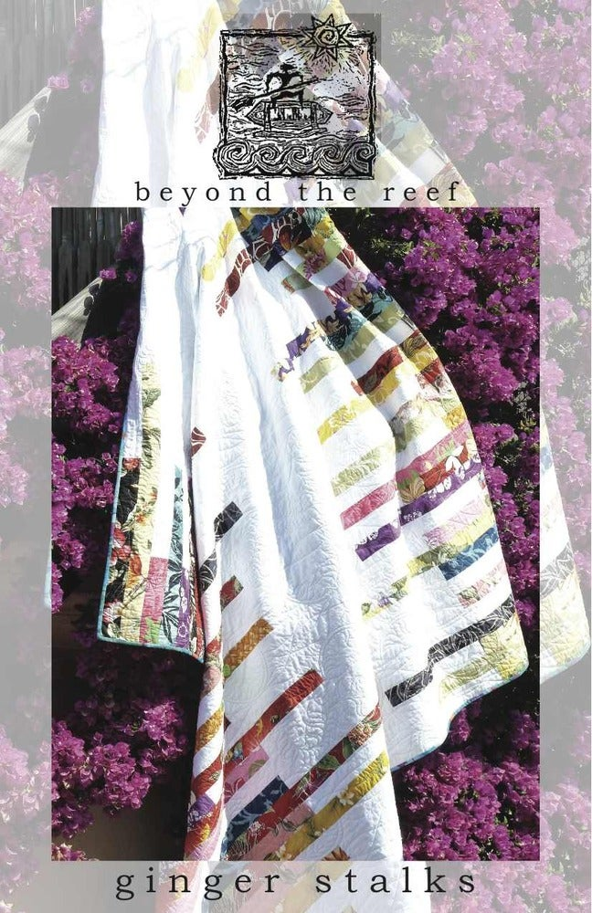 Image of beyond the reef pattern - Ginger Stalks