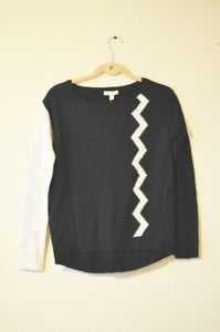 Image of b&w sweater