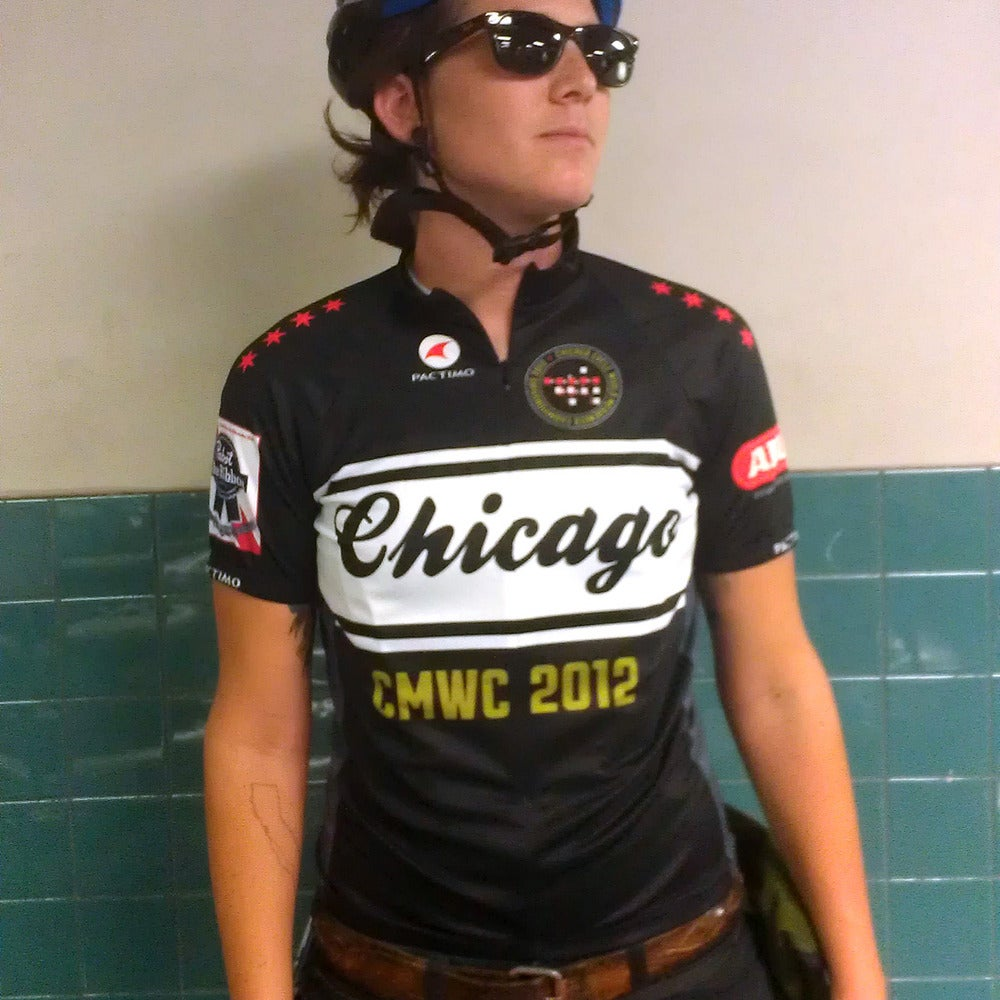 Image of CMWC 2012 Cycling Jersey