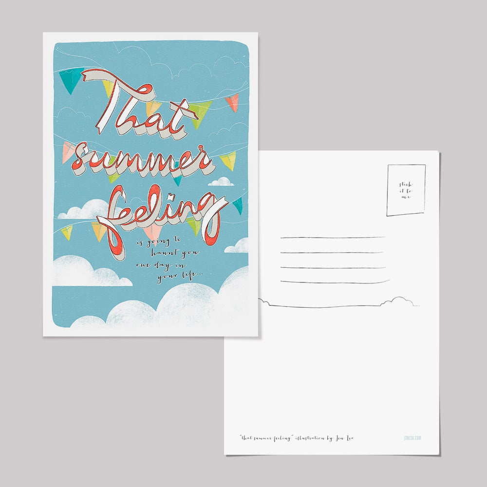 Image of That Summer Feeling postcards