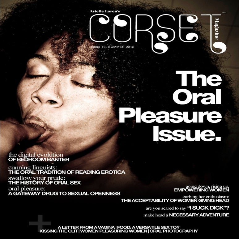 Image of Corset Magazine, Issue 3, Oral Pleasure (Digital)