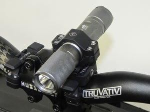 Image of 230 LM SINGLE LIGHT HANDLEBAR MOUNT SYSTEM - SALE!