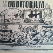Image of The Odditorium Letterpress Poster