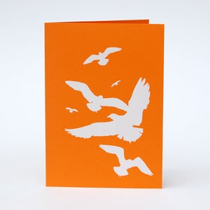 Image of Seagull card