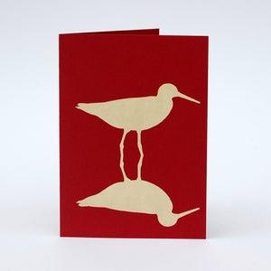Image of Redshank card