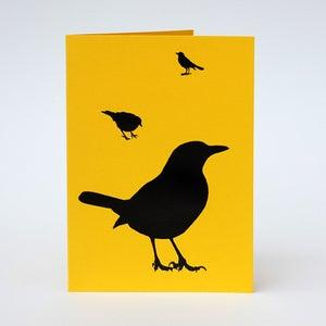 Image of Blackbird card