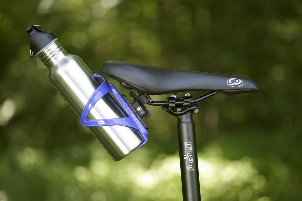 Image of BOTTLE CAGE UNDER SEAT MOUNT SYSTEM