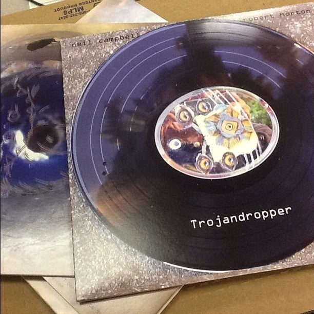 Image of Neil Campbell and Robert Horton - Trojandropper LP