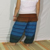 Image of Sedona Stripe Cotton Harem Pants