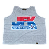 Image of JFK Basketball Tank (Gray)