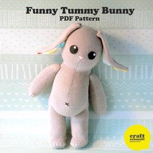 Image of Tummy Bunny e-Pattern