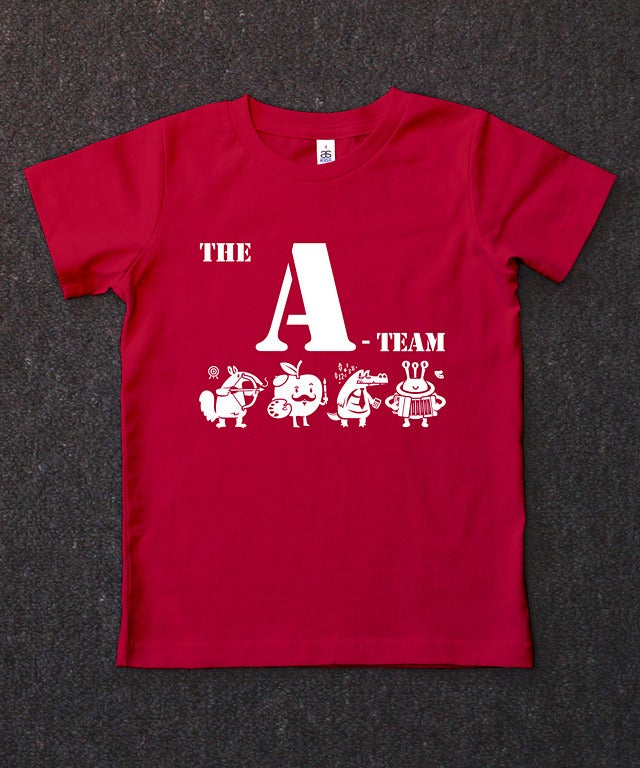 "Image of CLEARANCE ""THE A-TEAM"" - Red"
