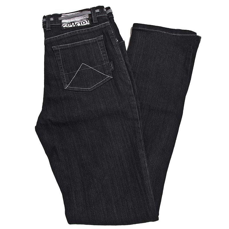 Image of Montguffery v3 Black Stretch Denim Jean