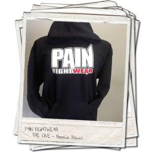 Image of PAIN FIGHTWEAR - MENS 'THE ONE' HOODIE BLACK