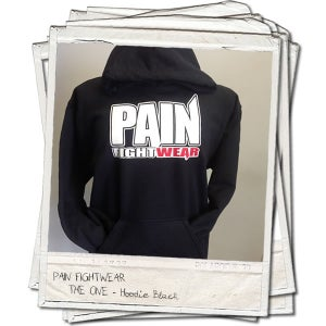 Image of PAIN FIGHTWEAR - KIDS 'THE ONE' HOODIE BLACK