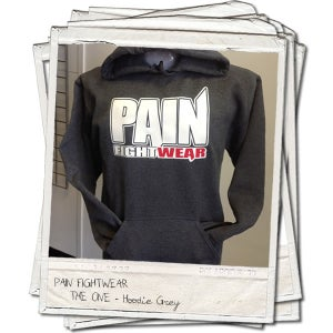 Image of PAINFIGHTWEAR-MENS 'THE ONE' DARK HEATHER