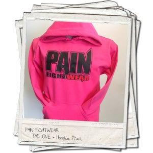 Image of PAIN FIGHTWEAR - LADIES 'THE ONE' HOODIE PINK