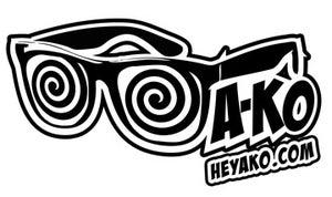 Image of Black & White Logo Sticker
