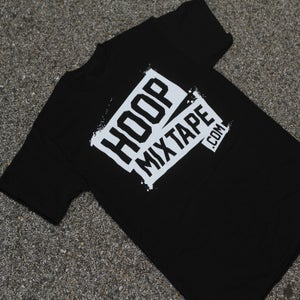 Image of Hoopmixtape OFFICIAL Tee (Black)