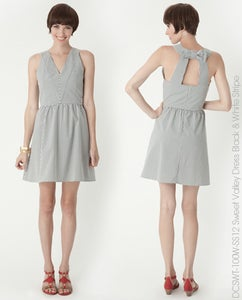 Image of *Sold* Dear Creatures Sweet Valley Bow Back Dress