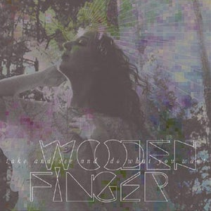 Image of Wooden Finger - 'Take and See and Do What You Want' CD