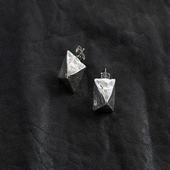 Image of Pyramid Stud Earring