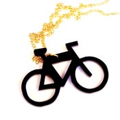 Image of Bicycle Necklace