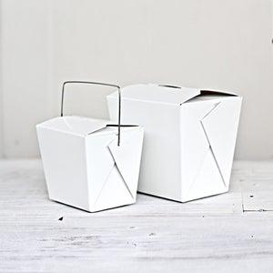 Image of White Noodle Box
