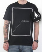 Image of Black Light - Square Tee - BLK