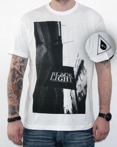 Image of Black Light - Flag - WHT