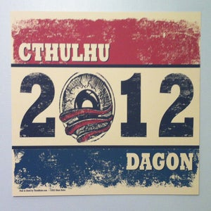 Image of Vote Cthulhu - wall poster