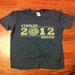 Image of Vote Cthulhu Shirt - Heather Indigo Blue