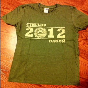 Image of Vote Cthulhu Shirt - Military Green