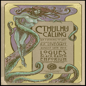 Image of CTHULHU CALLING: show poster - small