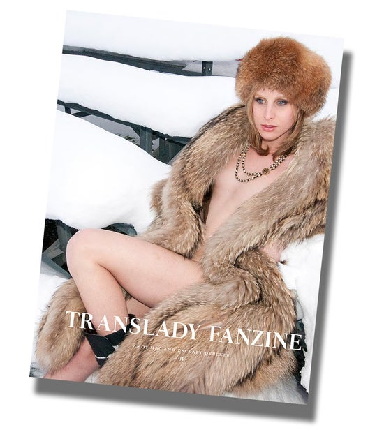 Image of Translady Fanzine with Zackary Drucker