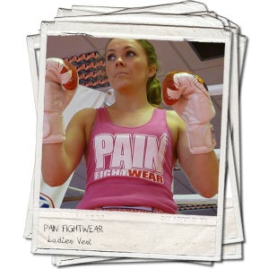 Image of PAINFIGHTWEAR LADIES RACERBACK VEST PINK