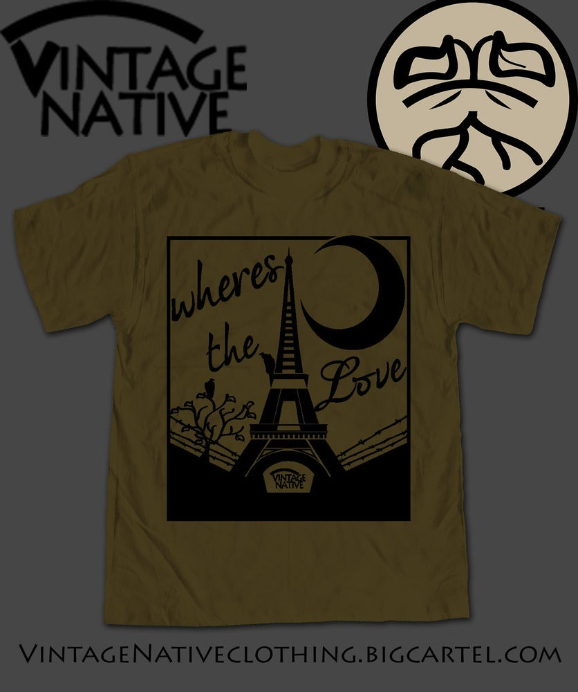 Image of Midnight In Paris Tee Native Green