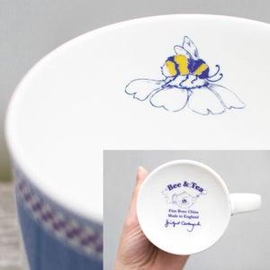 Image of Blue Pansy Mug